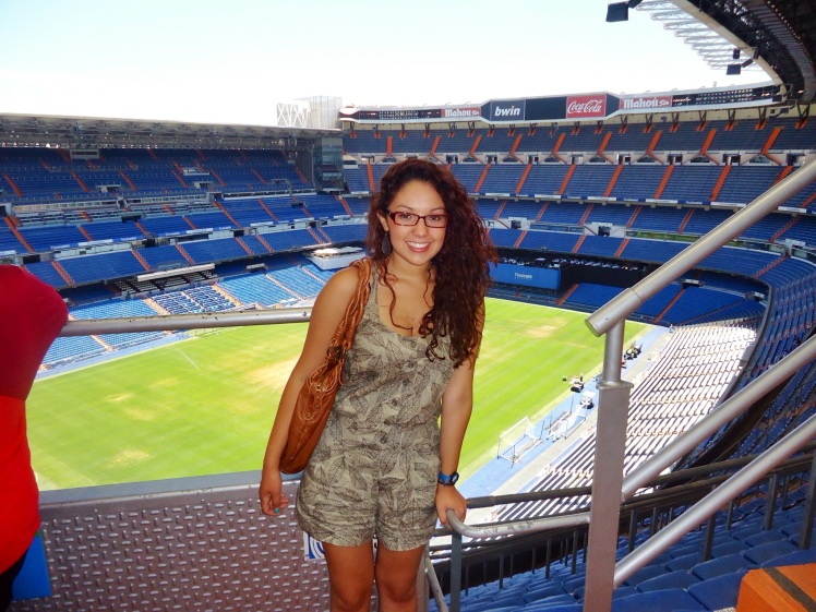 Touring the Real Madrid Stadium!