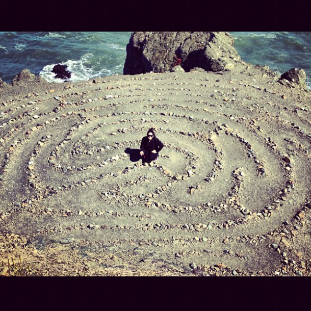 Labyrinth at lands end