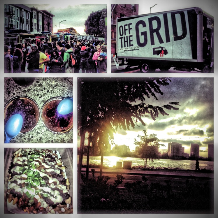 Off the Grid- Posted at Lake Merrit