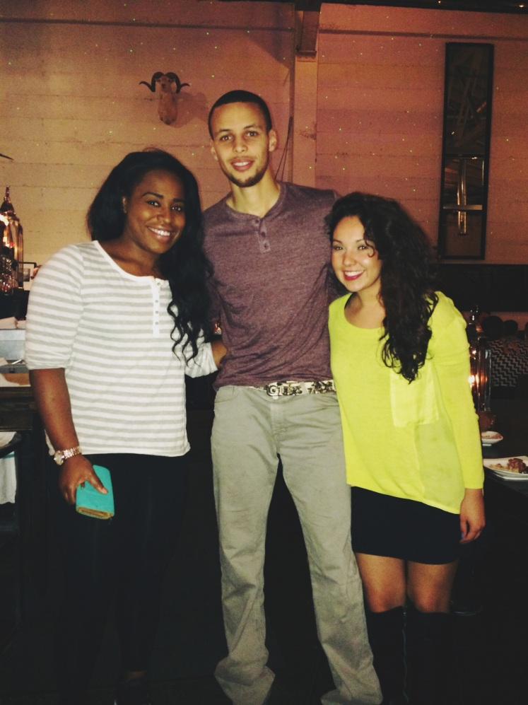 Even saw Steph Curry at Mua!
